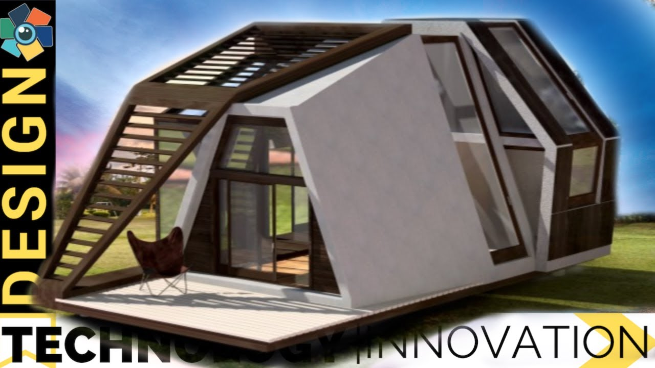 10 Unusual but Awesome Tiny Homes & Vacation Cabins