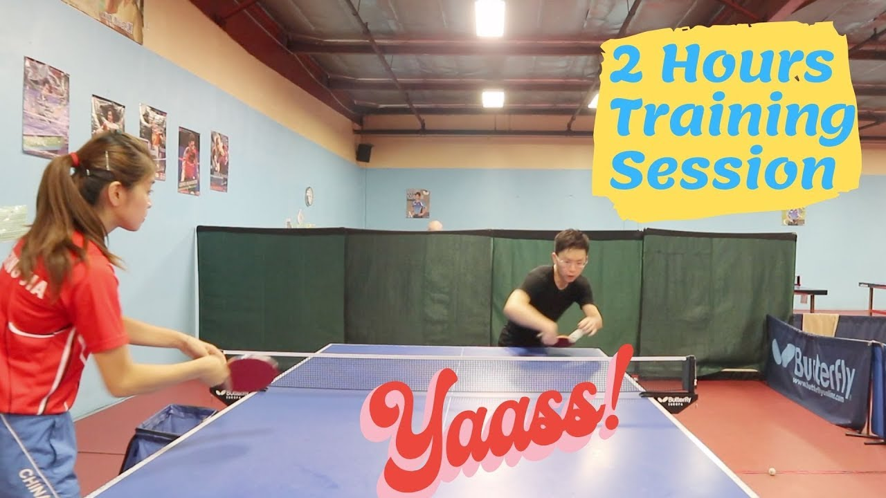 2 Hours Table Tennis Training Plan for Intermediate & Advanced Players