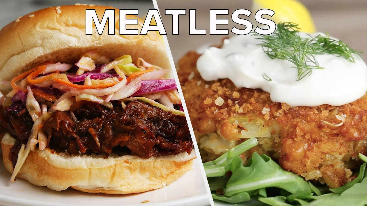 5 Meatless Recipes That Taste Delicious • Tasty