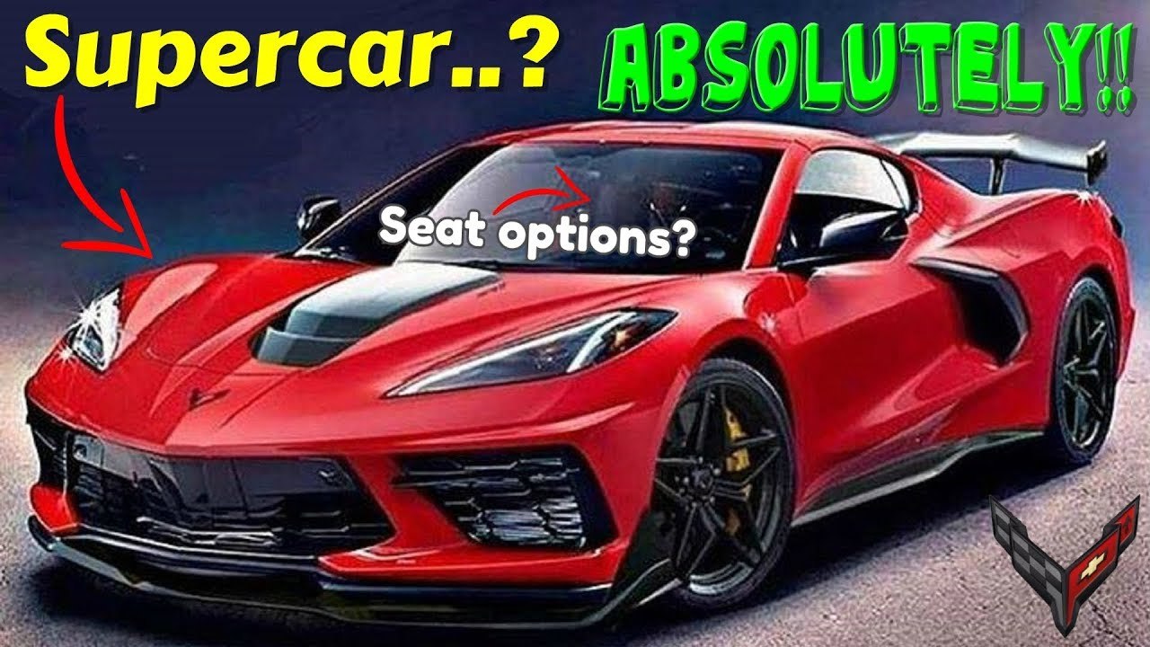 5 features that make the 2020 C8 Corvette BETTER than those OTHER supercars. AMAZING.