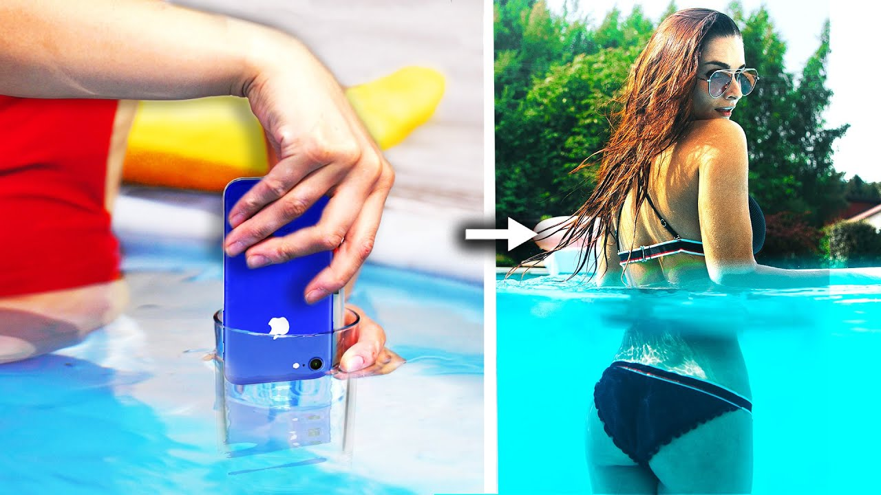 7 Funny and Creative Photo Ideas! Phone Photography Hacks and More DIY Ideas