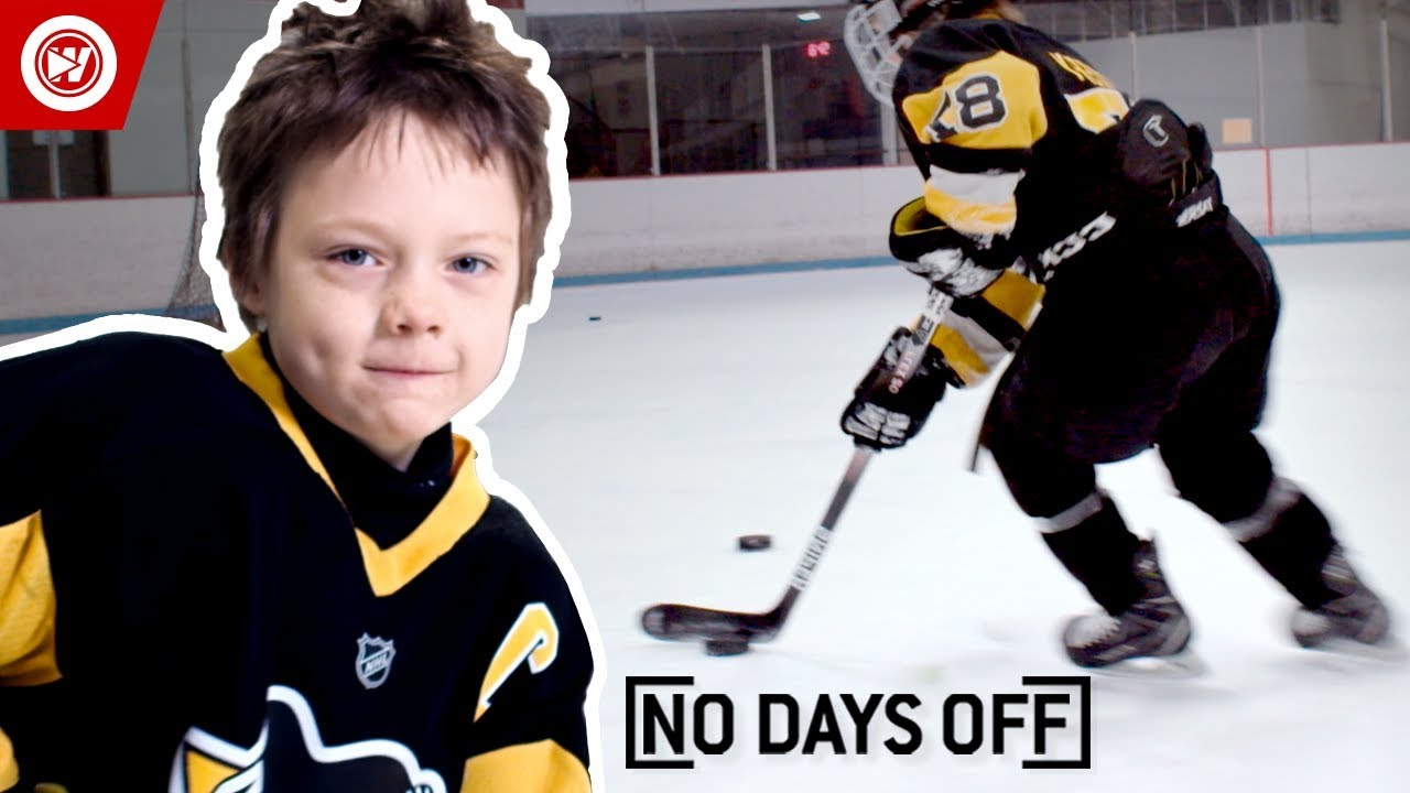 8-Year-Old Sidney Crosby | Roman Marcotte Hockey Highlights