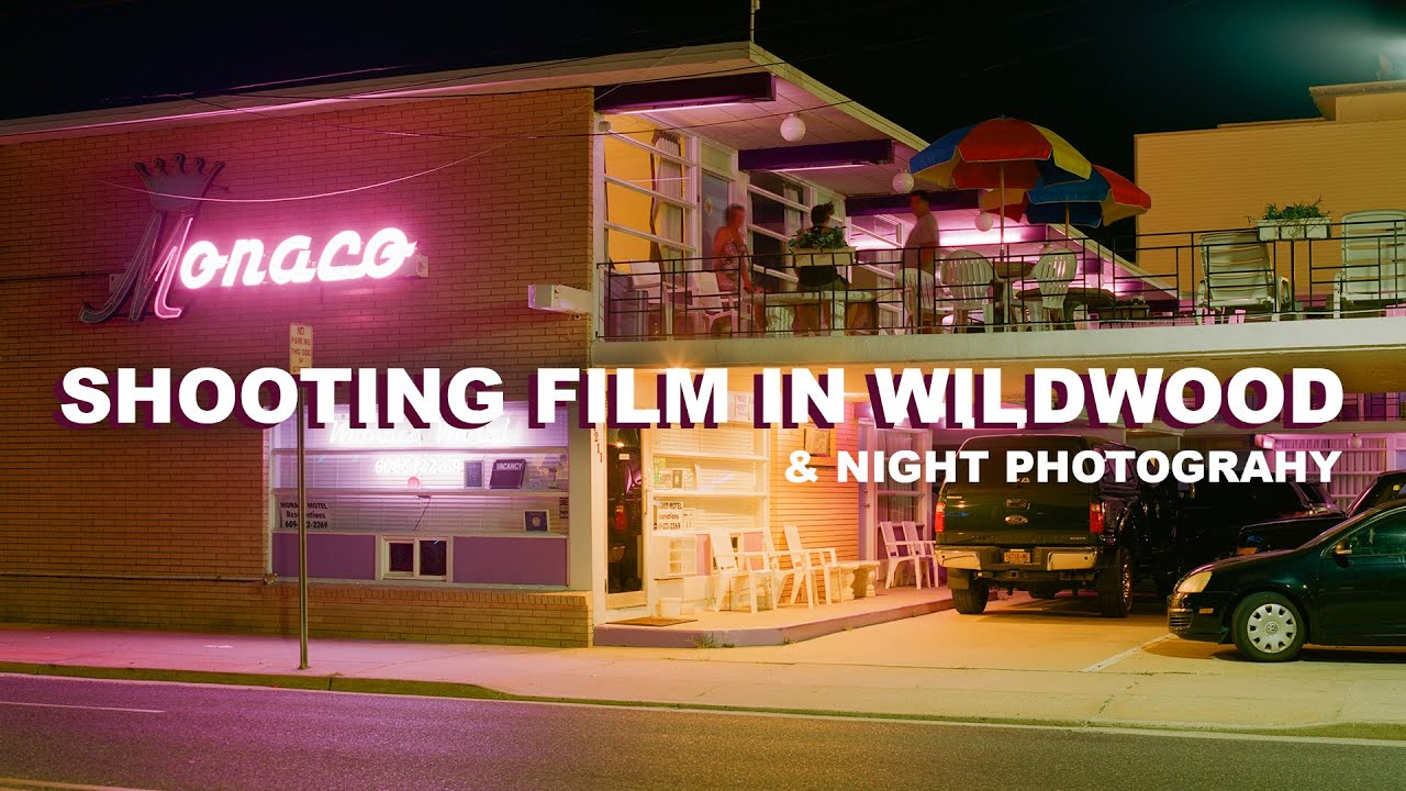 A Film Photography Trip to Wildwood - Behind the Scenes