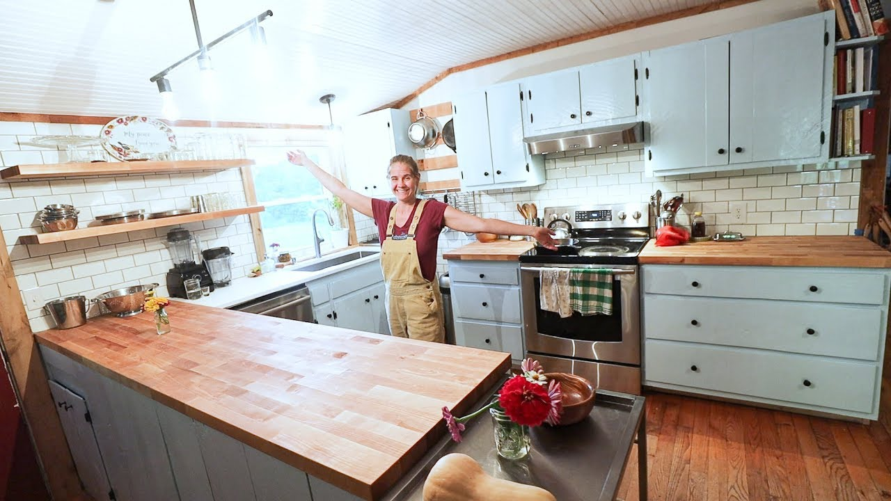 Barn House KITCHEN REVEAL ~ Rhodes House