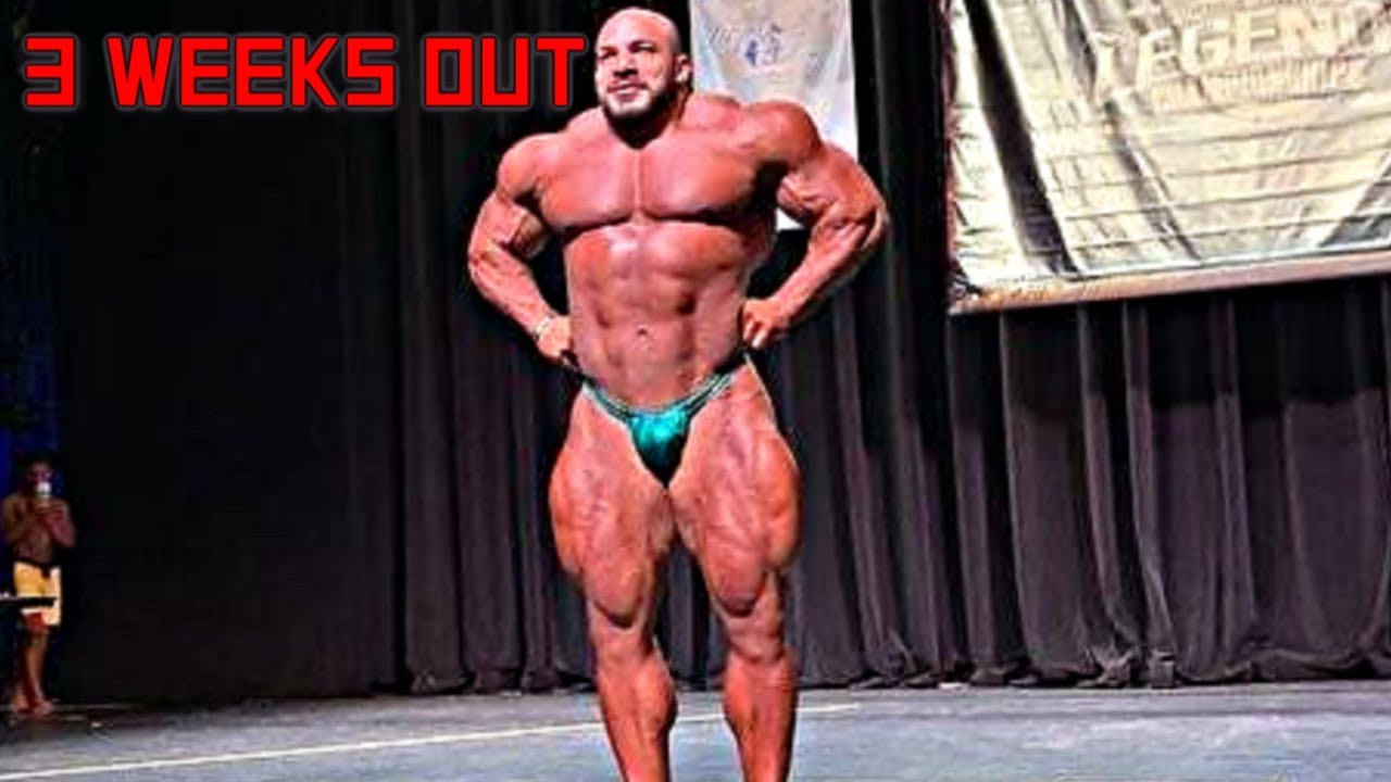 Big Ramy Guest Posing 3 Weeks Out