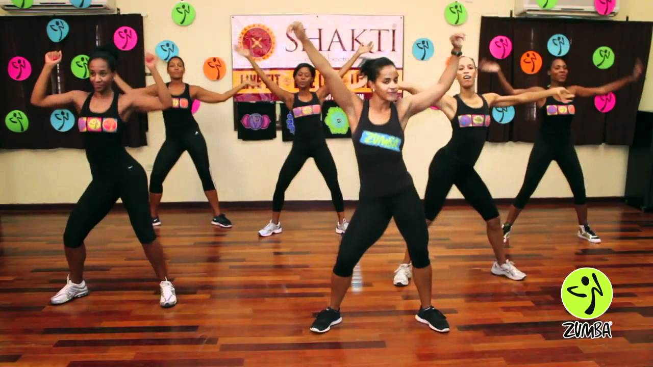 Boom Boom by Black Eye Peas Zumba Routine
