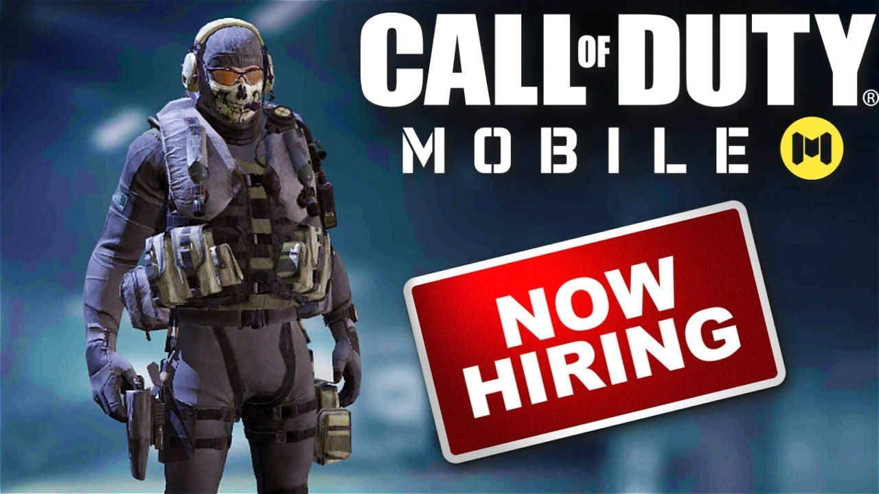 Call of Duty Mobile is NOW HIRING!!