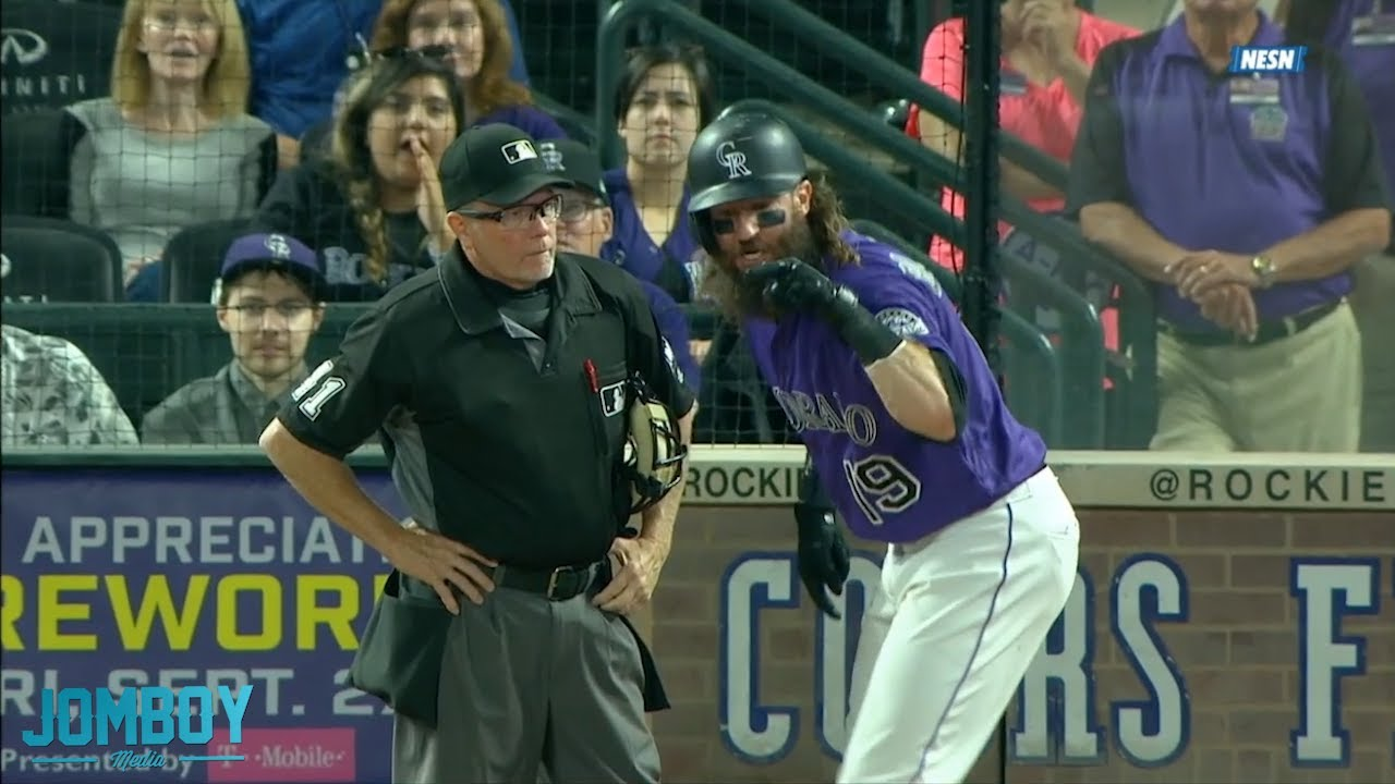 Charlie Blackmon slams his bat and gets ejected, a breakdown
