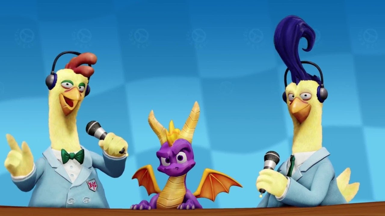 Crash Team Racing Nitro-Fueled - Spyro & Friends Grand Prix Intro Trailer
