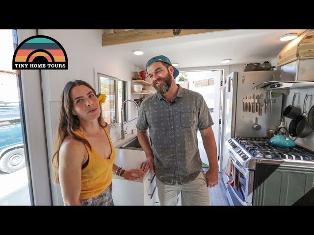DIY Tiny House Built For $35k - One Couples Dream Tiny Home On Wheels