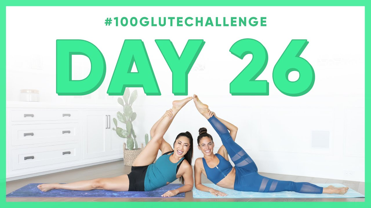 Day 26: Parachuter Legs! | 100 Glute Challenge w/ Kylie Shea