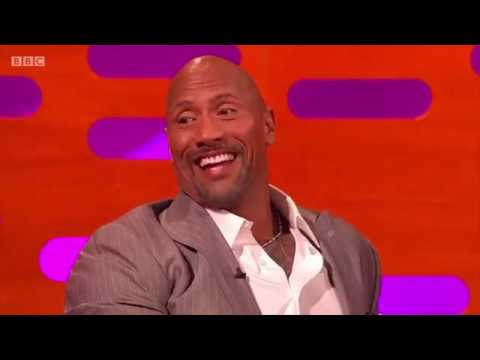 Dwayne Johnson has an awesome sense of humor