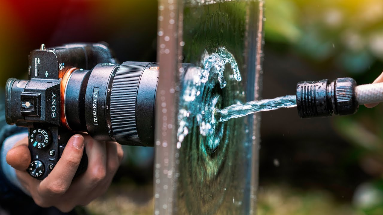 EASY Backyard Water Hose Photography !
