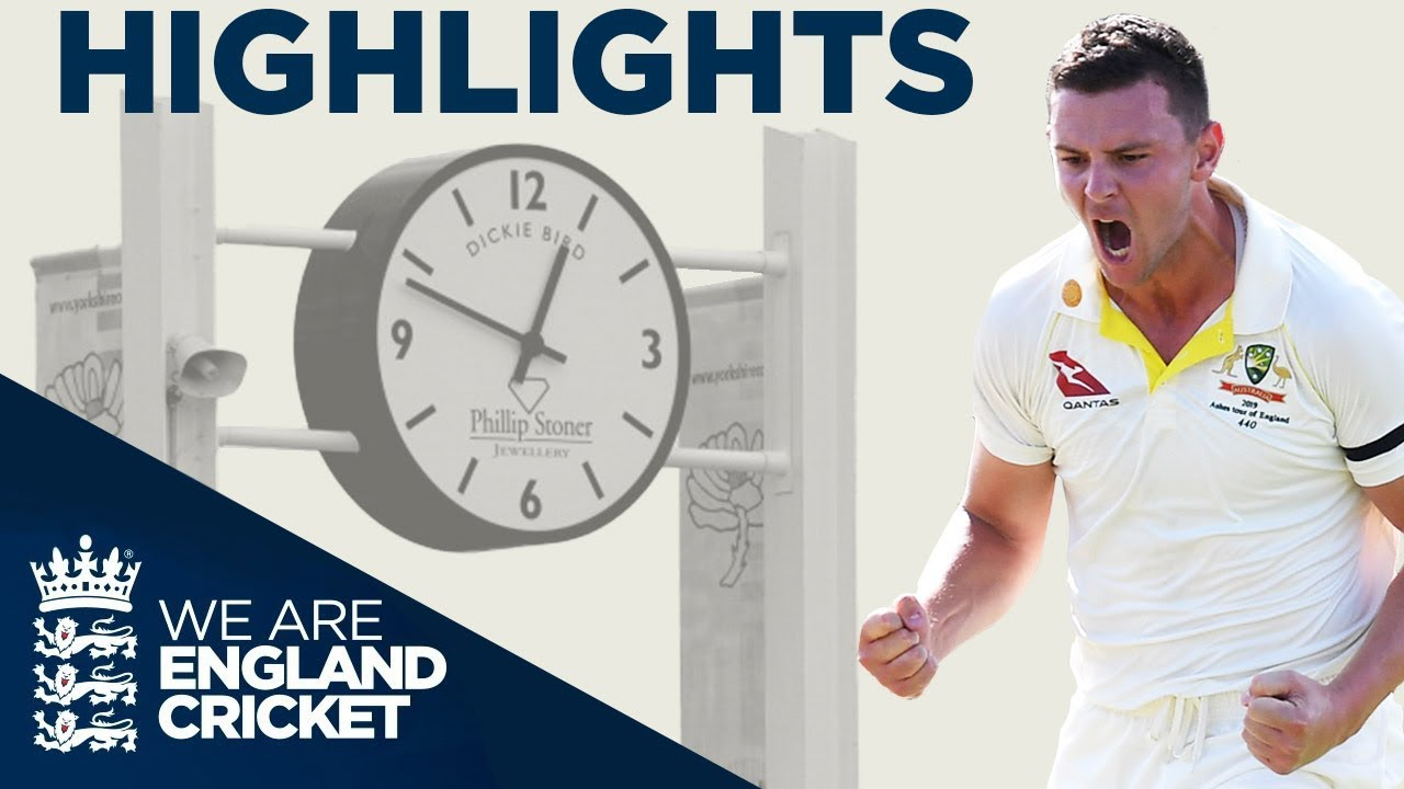 England All Out For 67 | The Ashes Day 2 Highlights | Third Specsavers Ashes Test 2019