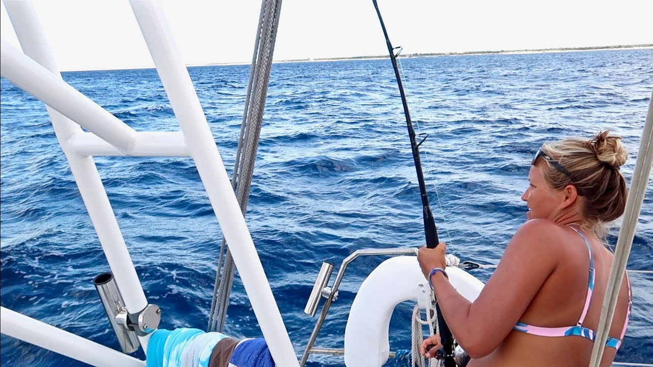 FISH ON! - Sailing to the VERY LAST Bahamas Island :0
