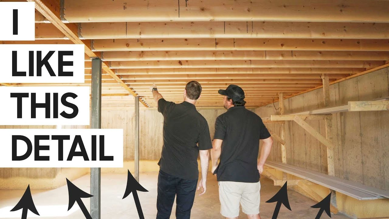 FRAMING - Some surprises for an efficient BUILD on this home!