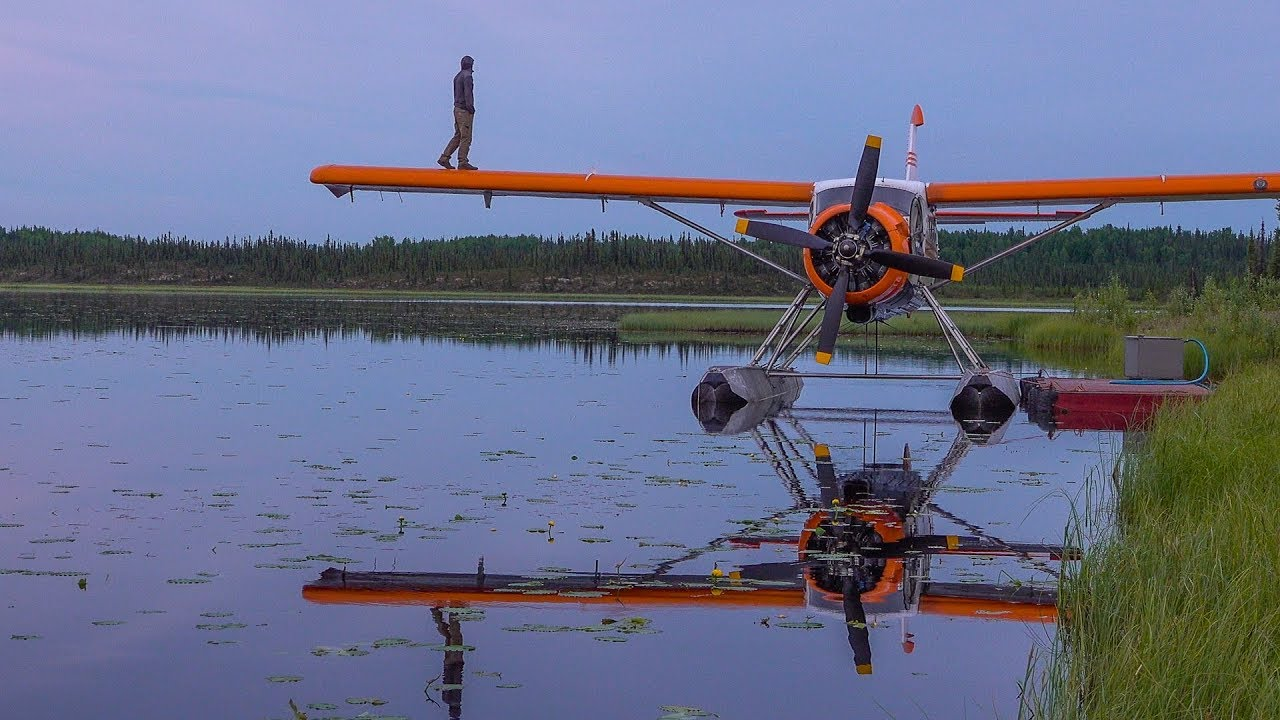 Flying above the ARCTIC CIRCLE - NO ROADS lead to this place | Alaska: Part 11
