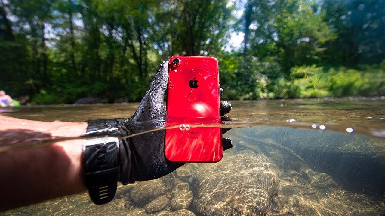 Found iPhone XR Lost In River & Returned to Owner! (Product Red)