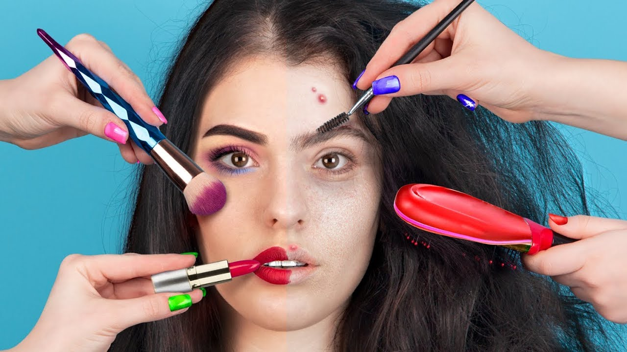 From Bad Luck to Beauty / 8 Beauty Tricks In 15 Minutes
