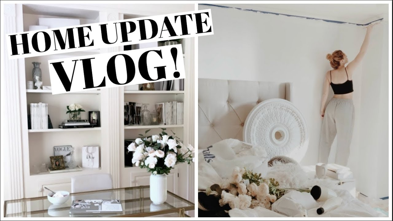 HOUSE UPDATE VLOG - Renovating, Room Shopping, ect!