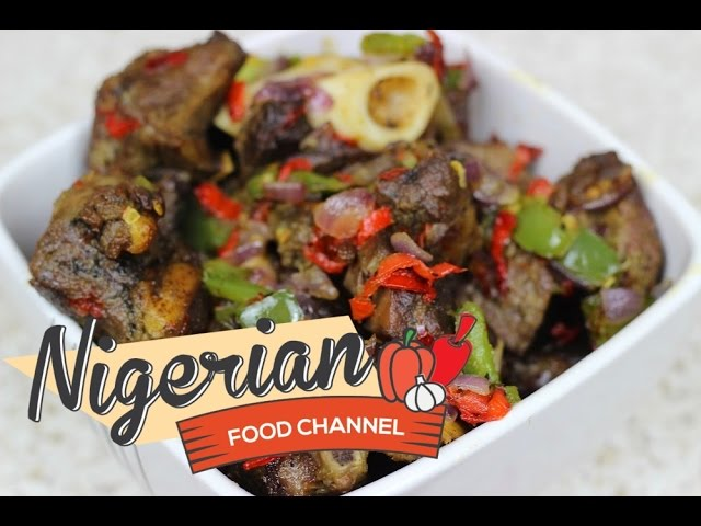 HOW TO MAKE ASUN [ SPICY GOAT MEAT ] Nigerian Food Recipes