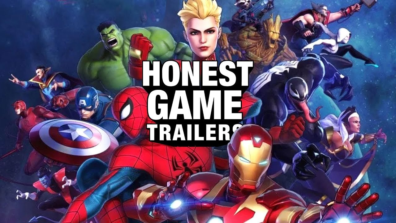 Honest Game Trailers | Marvel Ultimate Alliance 3: The Black Order