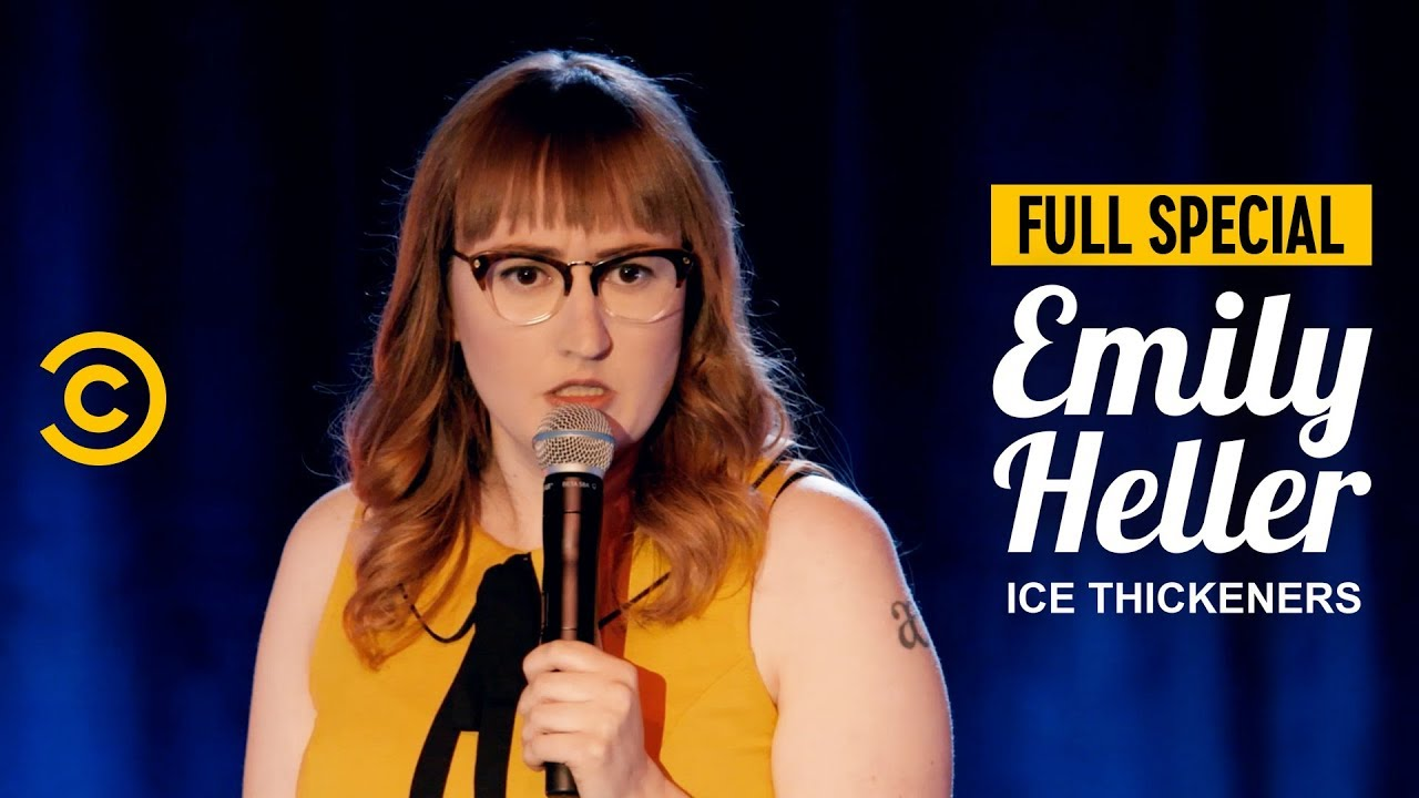 """""""Hot People Are Amazing at Therapy"""" - Emily Heller: Ice Thickeners - Full Special"""