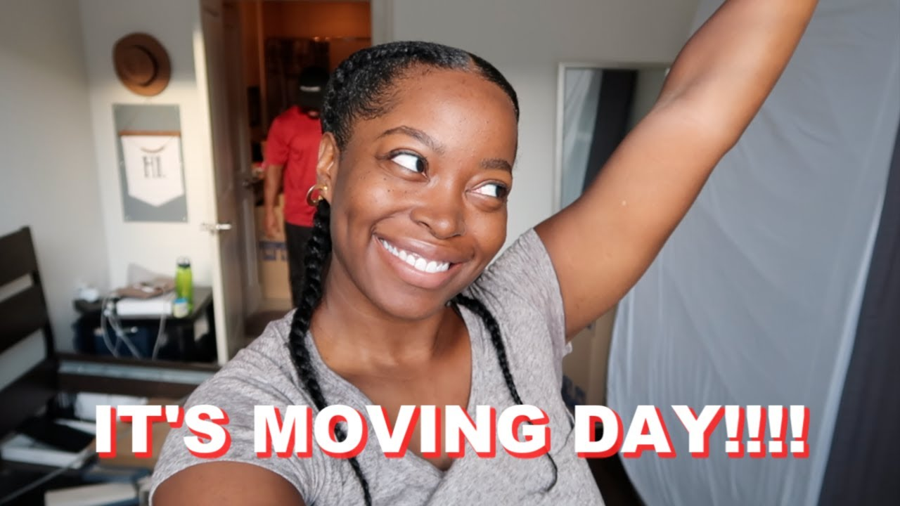 IT'S MOVING DAY!!! VLOG | EMPTY OLD APARTMENT TOUR: From Houston To Dallas