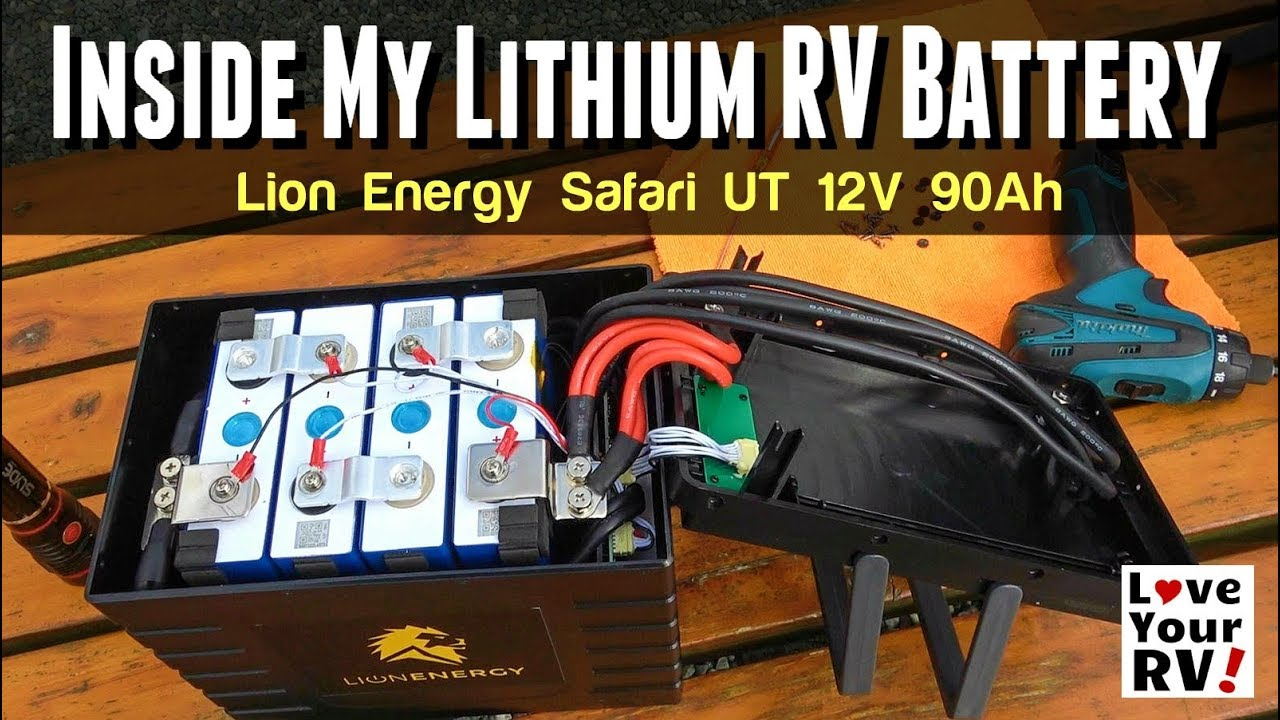Inside a Lithium 12V RV Battery - Lion Energy Safari UT