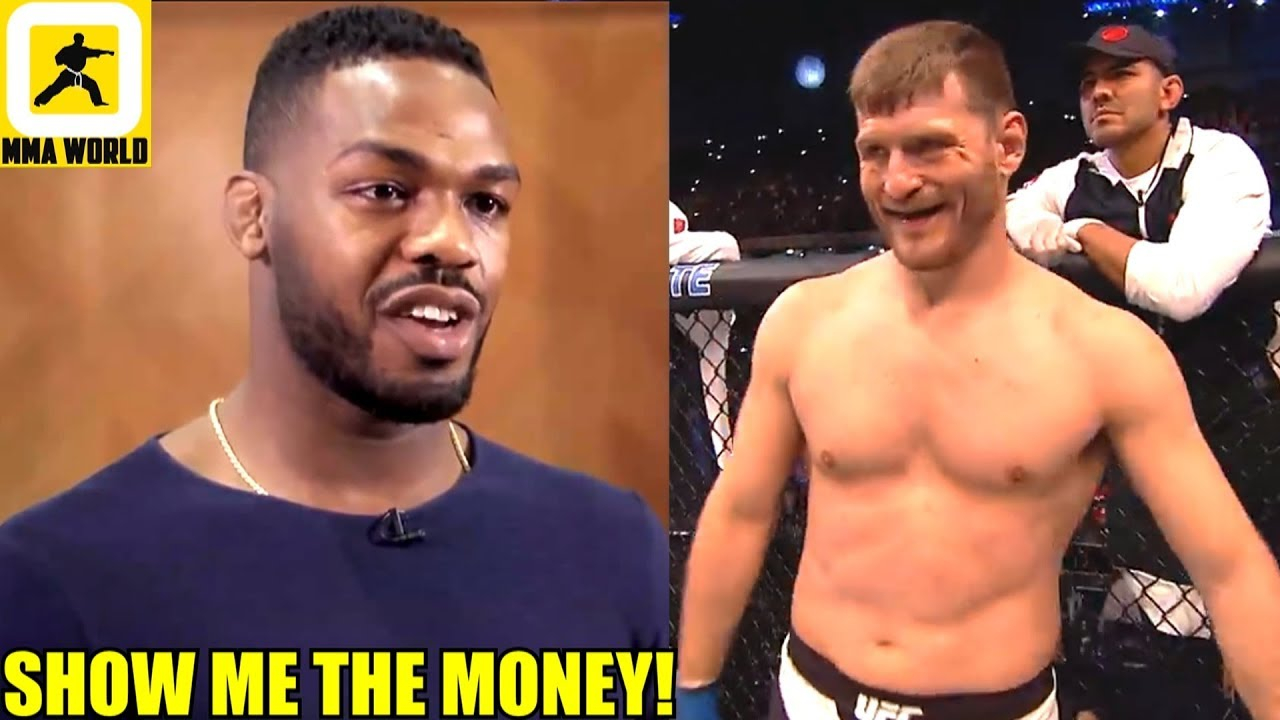 Jon Jones will move up to Heavyweight Division and face Stipe Miocic if THE PRICE IS RIGHT,Edgar