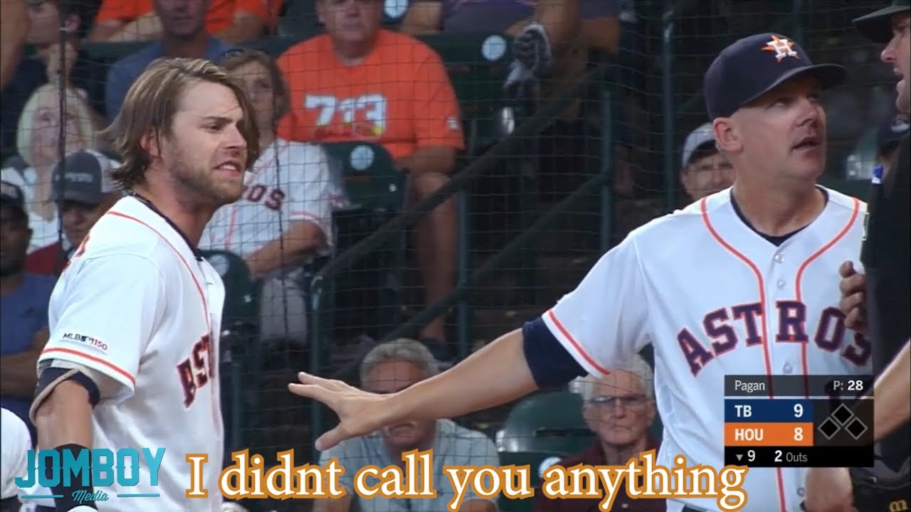 Josh Reddick gets ejected and puts his hair on full display, a breakdown