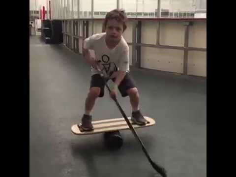 Kids are Awesome! Amazing Ice Hockey Kid
