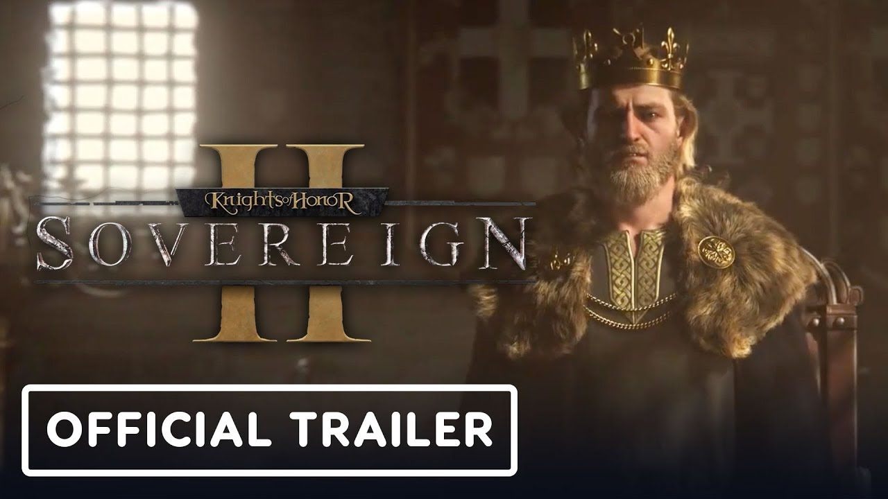 Knights of Honor II: Sovereign Official Cinematic Trailer - Gamescom 2019