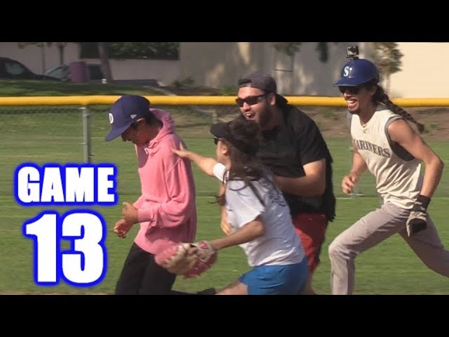 LIL KERSH'S FIRST HOME RUN! | On-Season Softball Series | Game 13