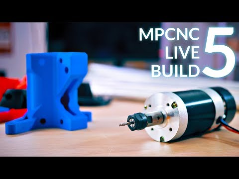 Live: Building the MPCNC! (5 - Wiring and electronics)