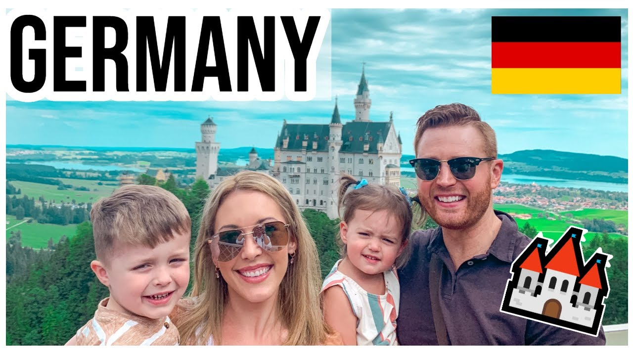 MY FIRST TIME IN GERMANY! 🇩🇪 Travel with our Young Family to Fairytale Castles & Munich |