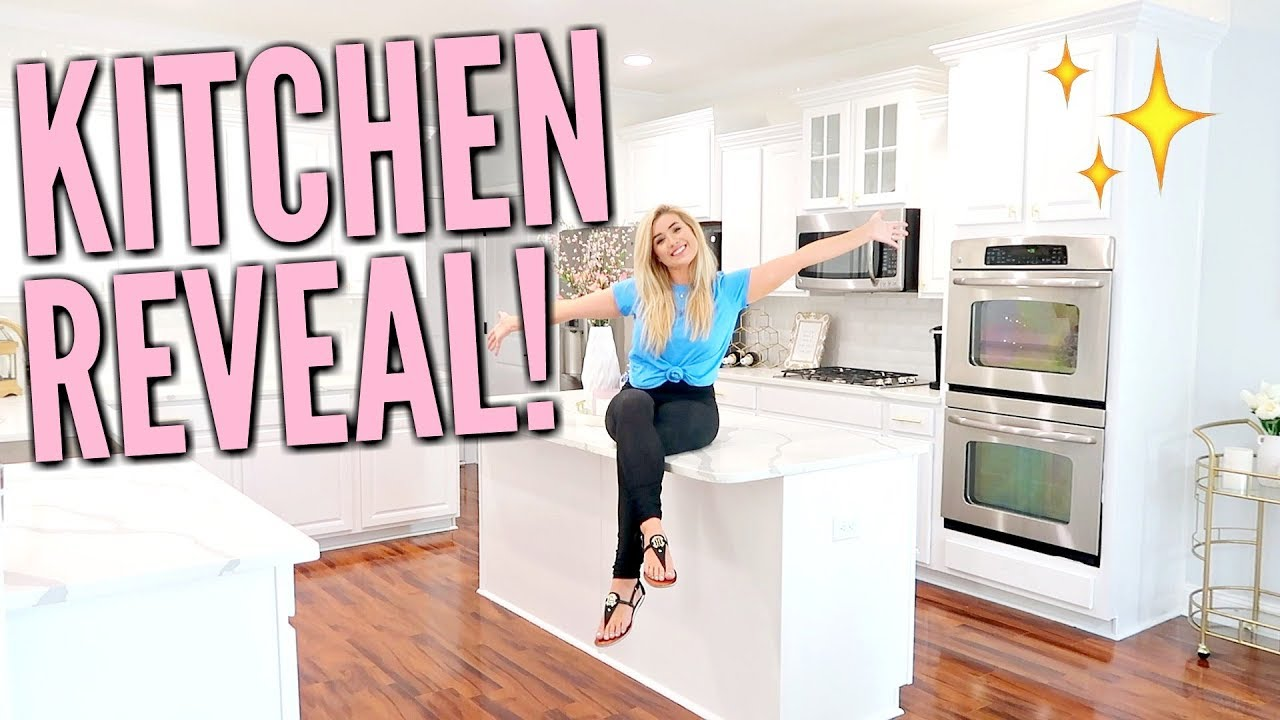 ✨NEW HOUSE KITCHEN REVEAL TOUR | KITCHEN REMODEL BEFORE &  AFTER | ULTIMATE CLEAN WITH ME | Lo