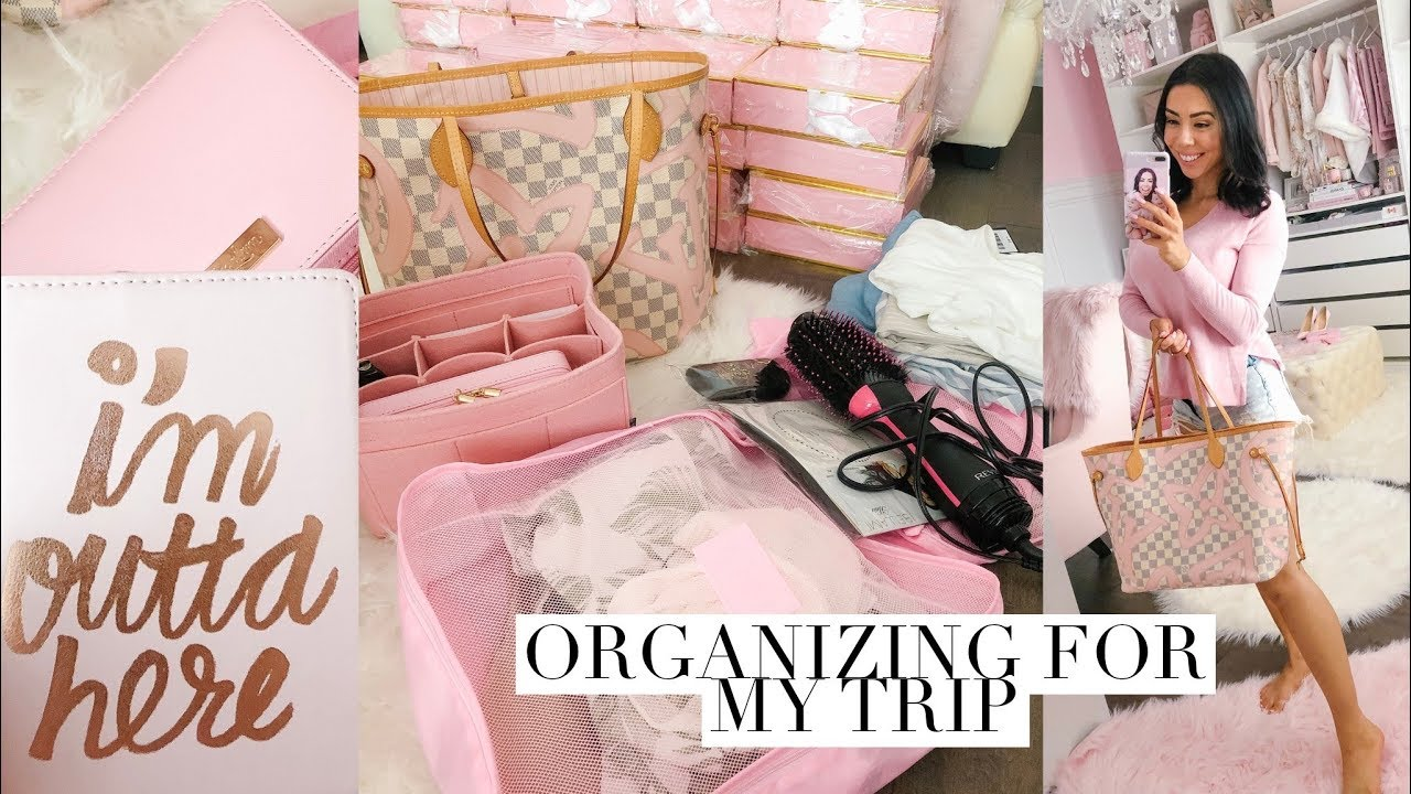 ORGANIZE FOR MY TRIP AND TRAVEL ESSENTIALS! 30 MIN VLOG!💕