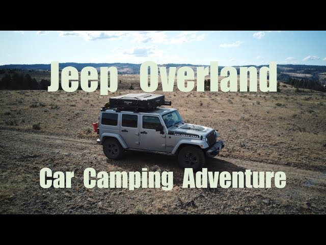 Oregon Overland Jeep Car Camping - History & Camp Cooking in the Ochoco Mountains