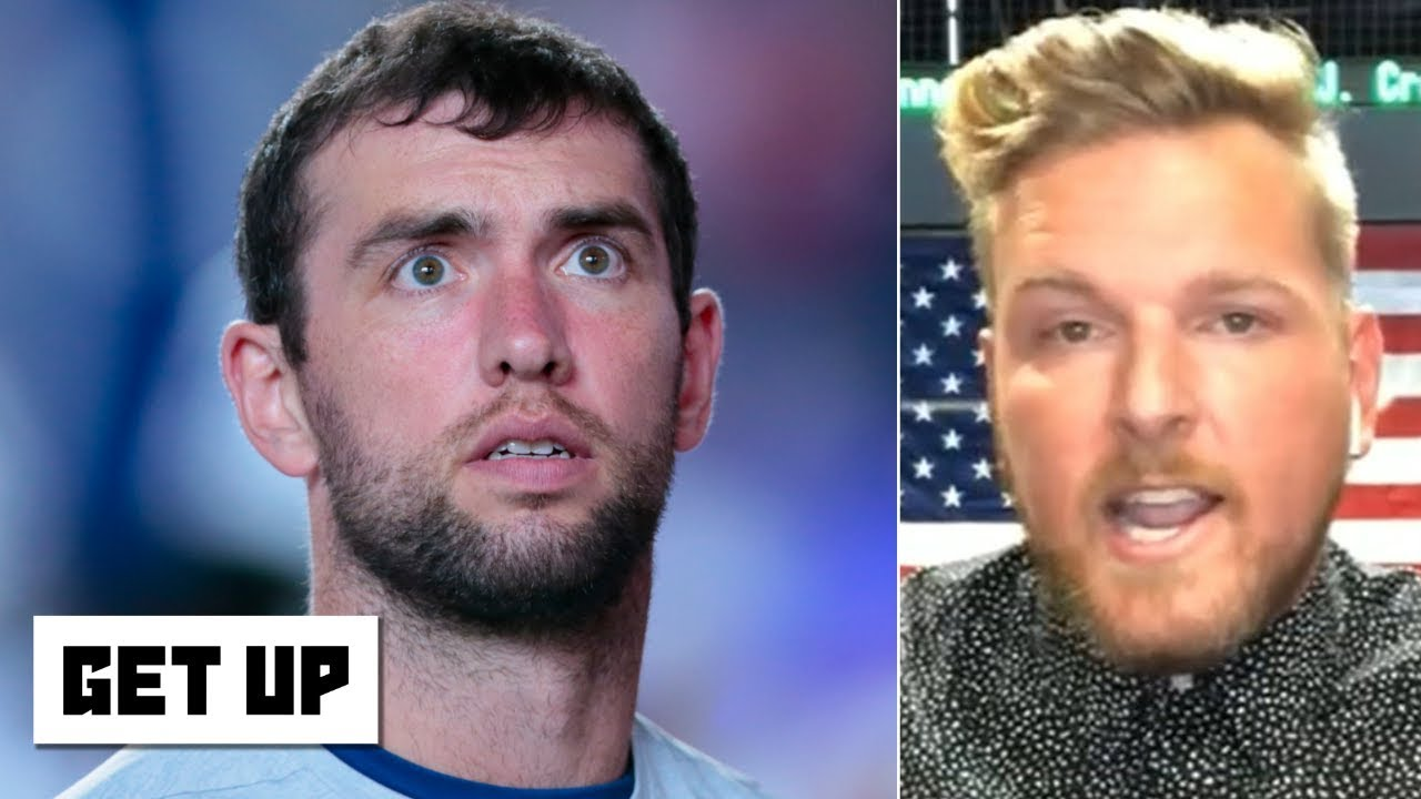 Pat McAfee: Andrew Luck was in a scary situation with the Colts' abysmal offensive line | Get U