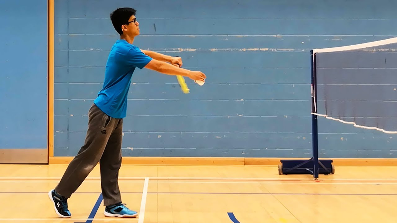 Perfect Badminton Low Serve Every Time - BEST METHOD