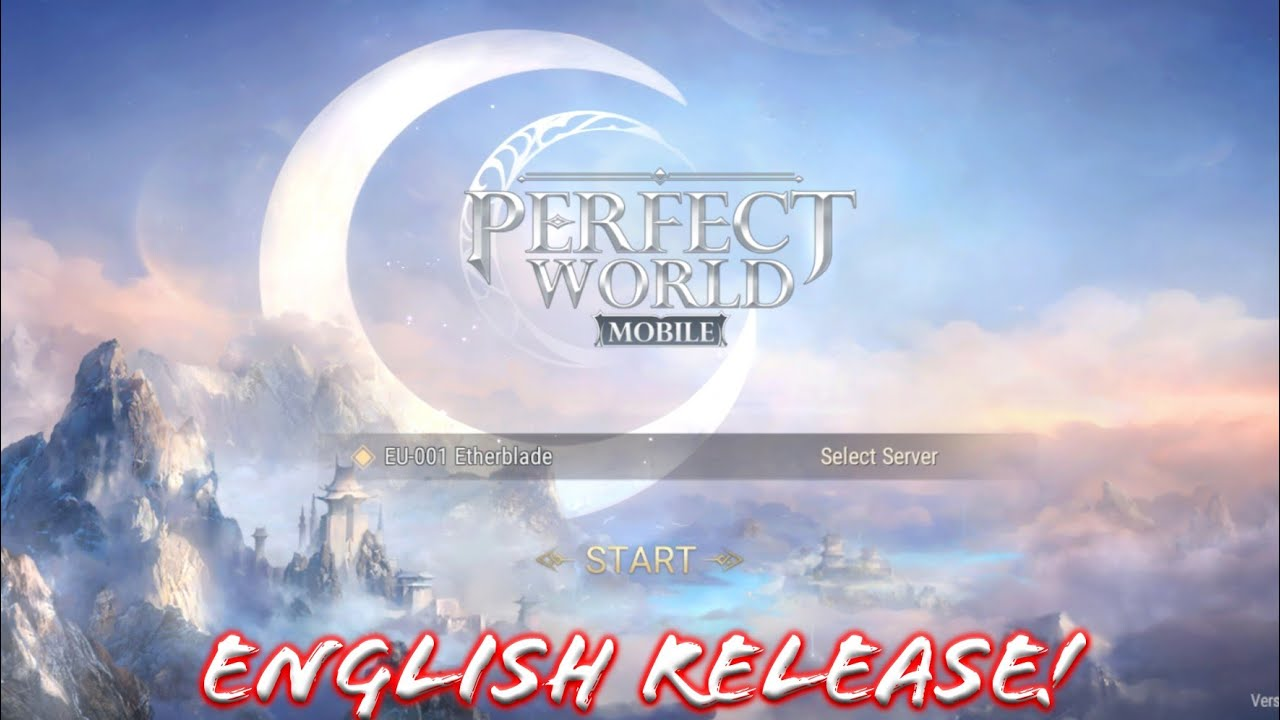 Perfect World Mobile [EN] MMORPG - High Graphic! English Release For EU! Android Official Gameplay