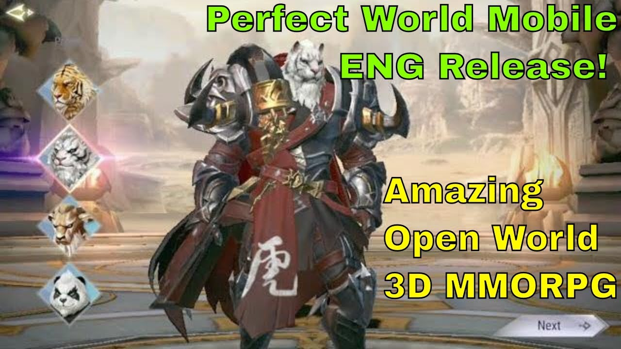 Perfect World Mobile Eng Release: First Impression - Amazing Open World MMORPG!