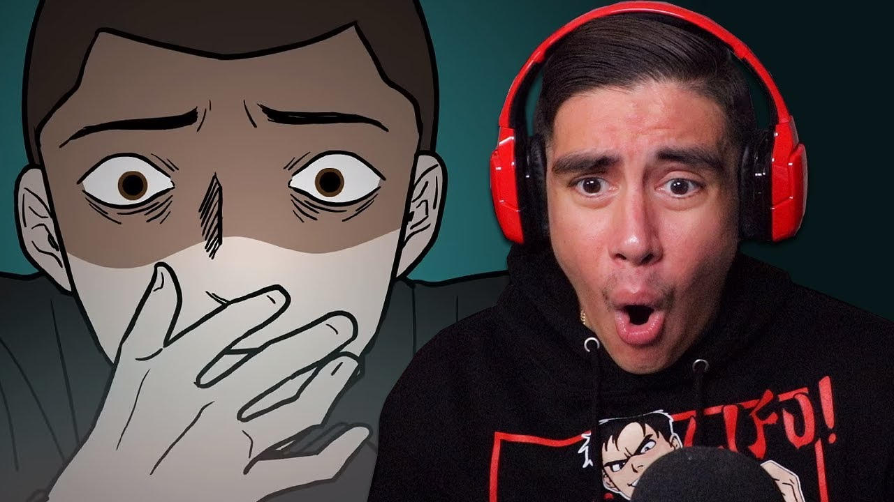 Reacting To Scary Animations Of People On The Dark Side Of The Internet..