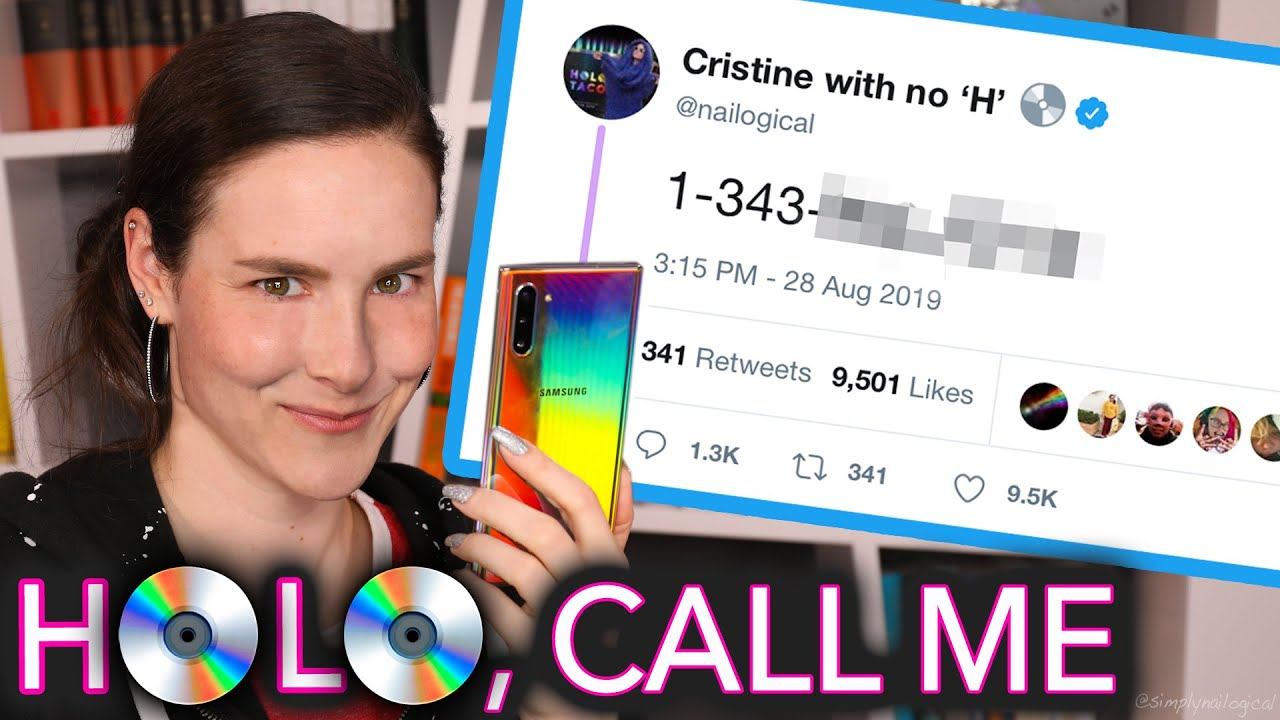 Samsung Galaxy Note 10 Holo Phone Review (I leaked my phone number)