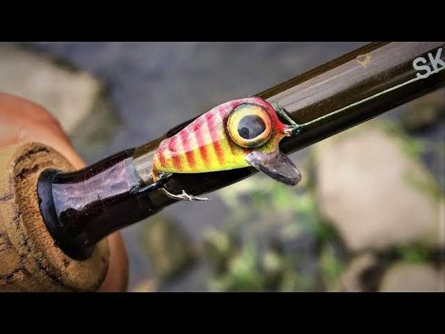 Smallest CrankBait Ever | One Day Build to Catch