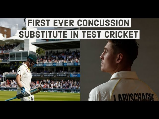 Smith withdrawn, Labuschagne becomes first-ever concussion substitute