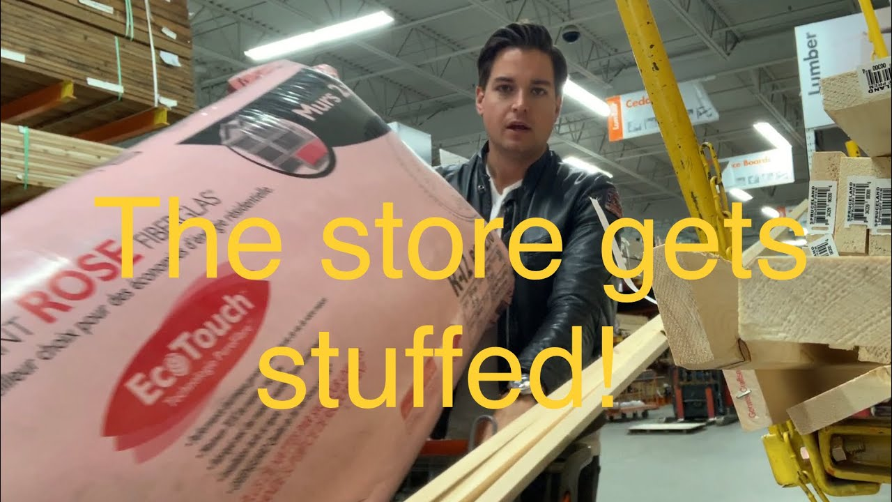 Stuff that store! Insulation, Drywall, paint and flooring! General store part 8