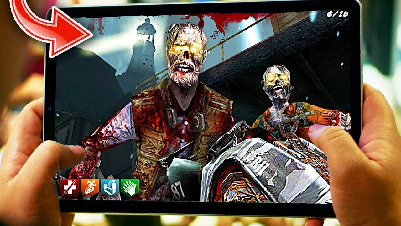 THIS is Black Ops Zombies on MOBILE…
