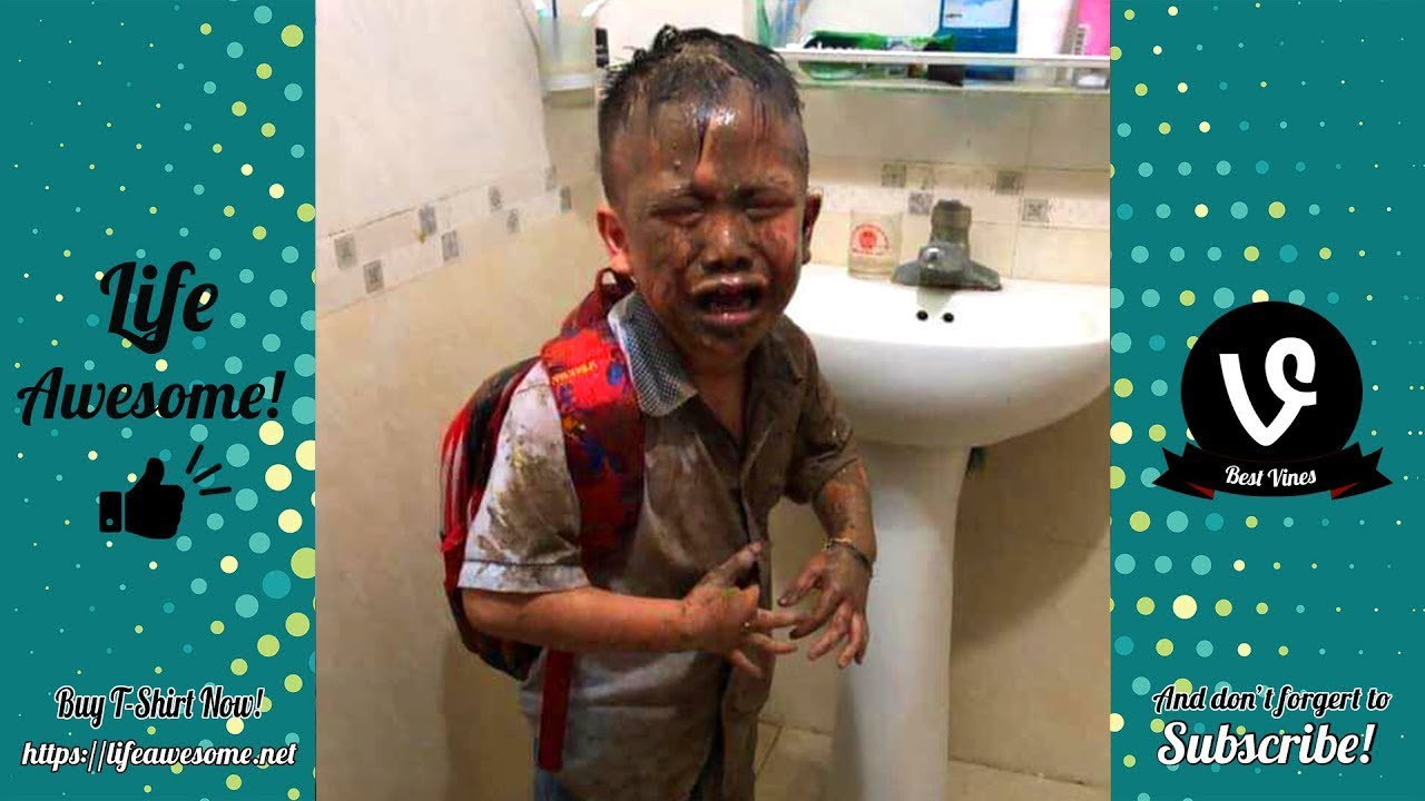 TRY NOT TO LAUGH - Funny Fails Video 2019 - That Kid Falls Into A Hole